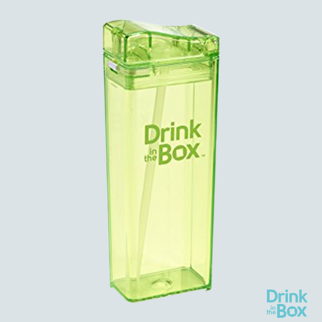 Drink and Juice Box 12oz Big Green