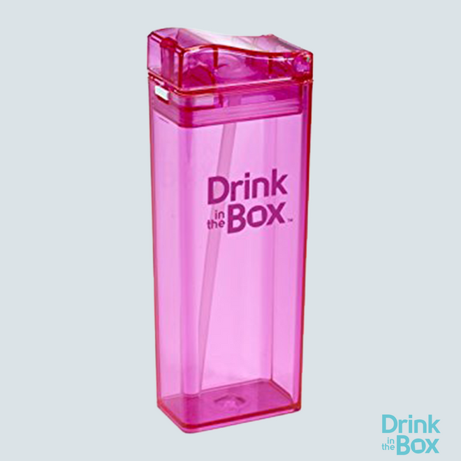 Drink and Juice Box 12oz Big Pink