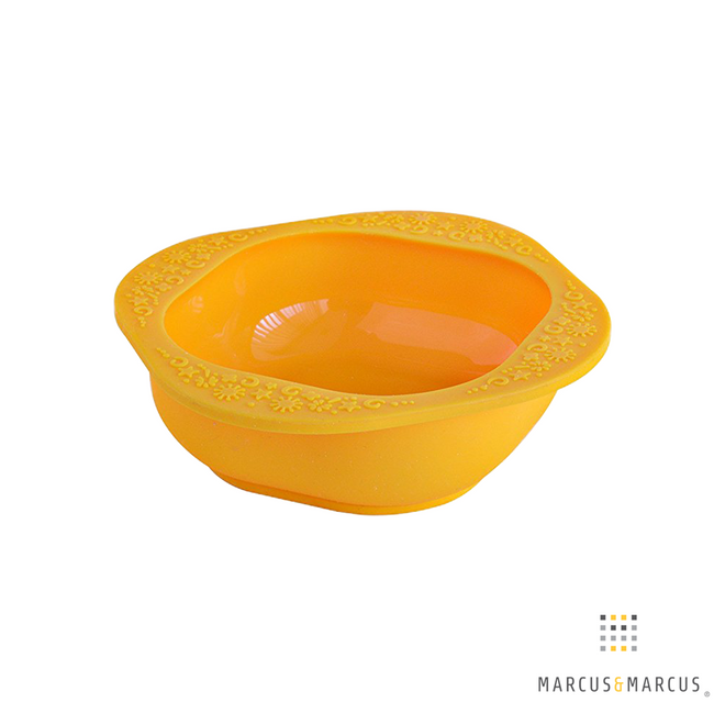 Silicone Bowls  Yellow and Green 2 Pack