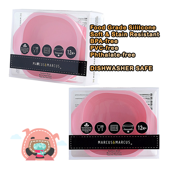 Pokey the Piglet Silicone Suction Baby Bowl