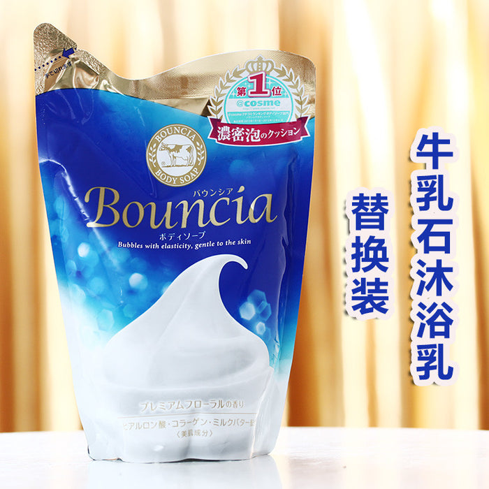Cow Brand Bouncia Body Soap 430mL Refill