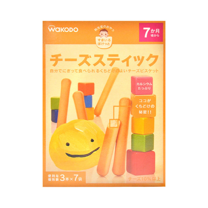 Wakodo Baby Cheese Biscuit Stick 1 box