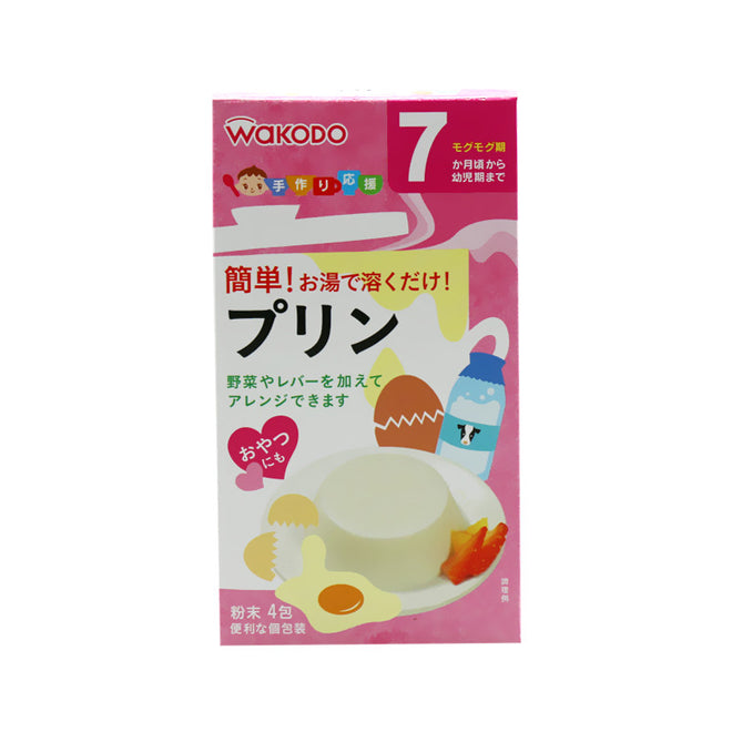 Wakodo Baby Pudding Mix 4pc