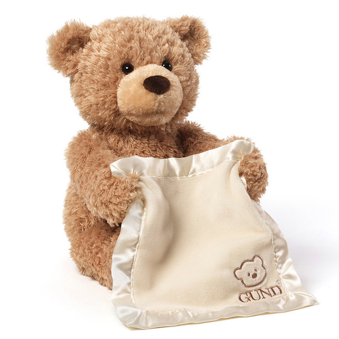Animated Peek-A-Boo Bear 11.5""
