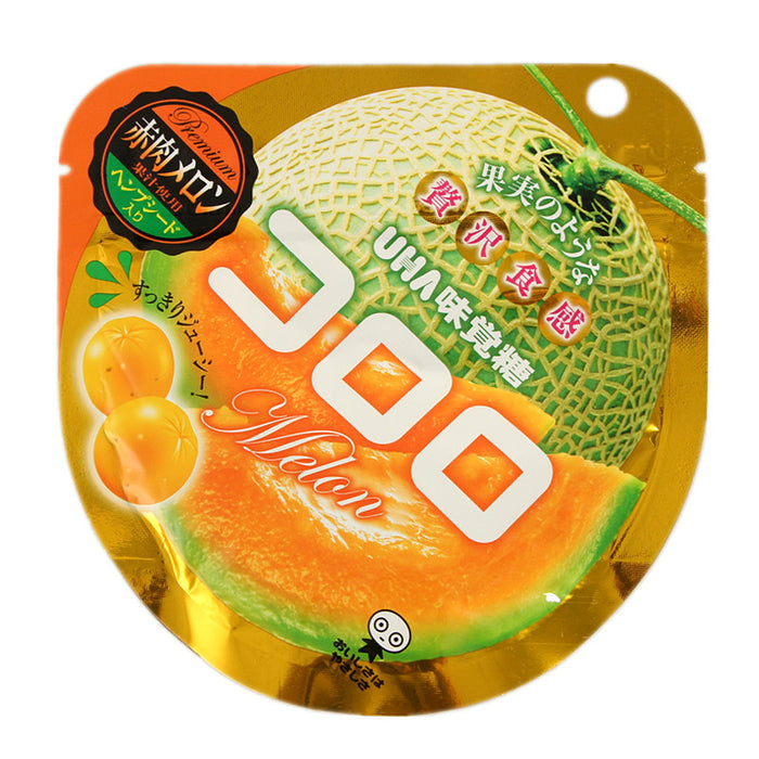 Kororo Gummy Candy Melon 40g