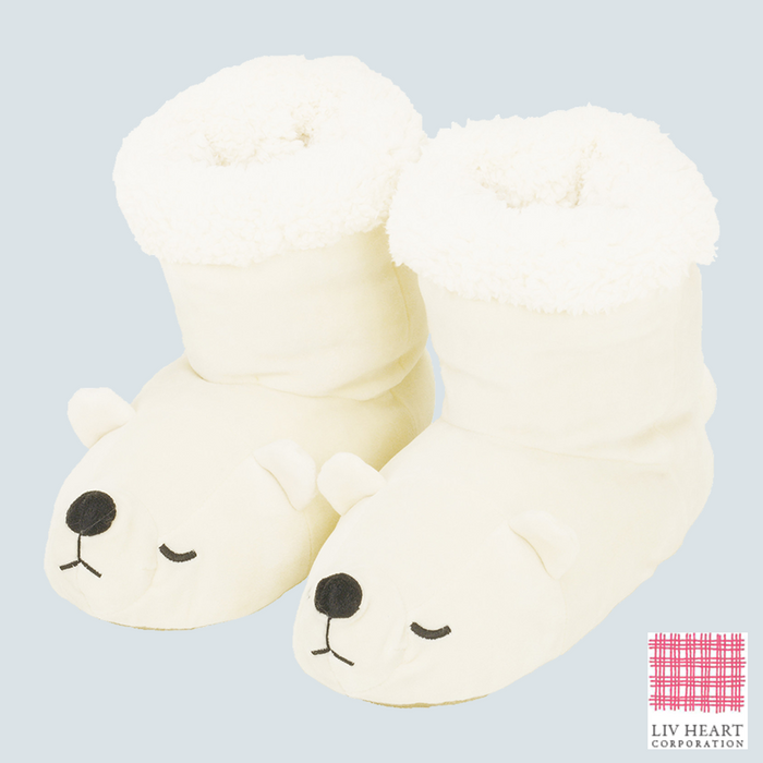 Nemu Nemu Polar Bear Room shoes 23-24.5cm