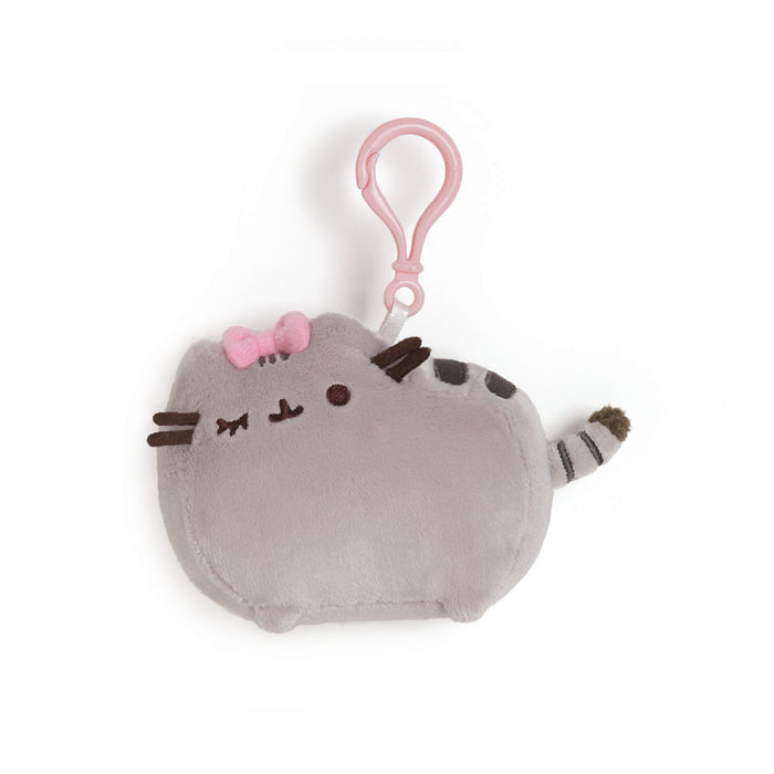 Pusheen with Bow Clip, 4.5""