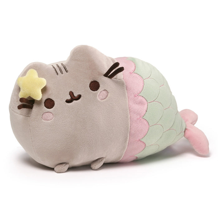 Pusheen Mermaid with Star, 12""