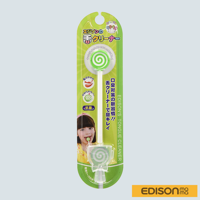 Baby Tongue Cleaner Green