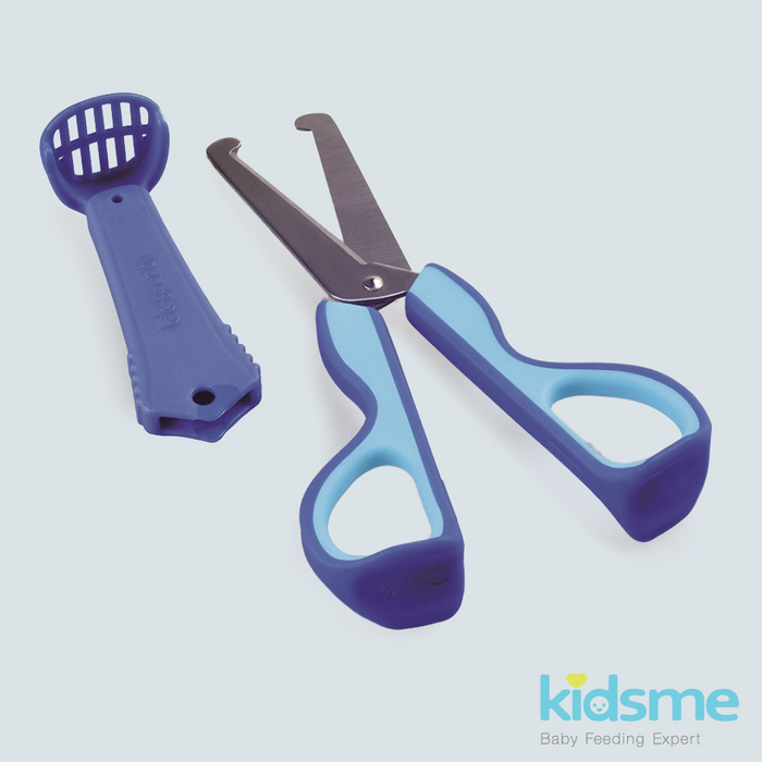 Kidsme 3-in-1 Food Scissors - Aquamarine