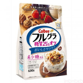 Calbee Celreal Less Sugar 600g