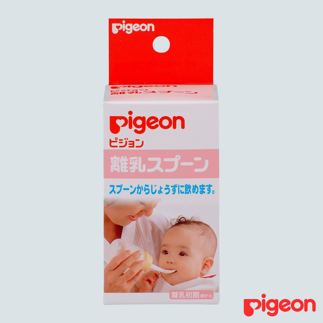 Pigeon Baby Weaning Bottle with Spoon 1 pc