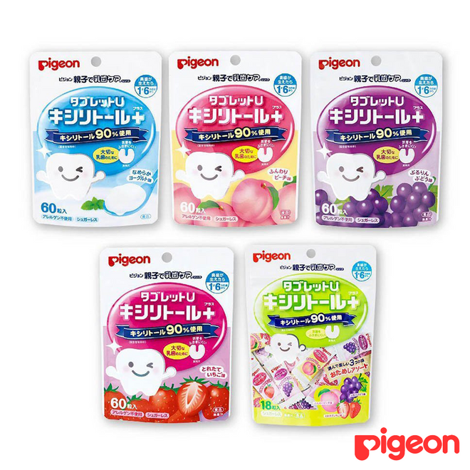 Pigeon Baby Tooth-Protection Candy 18pcs Mix