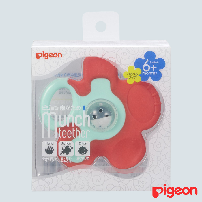 Pigeon Baby Flower Teether 6mo+