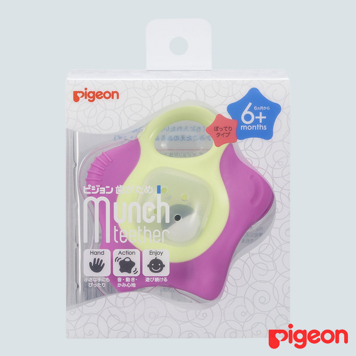 Pigeon Baby Star Teether 6mo+