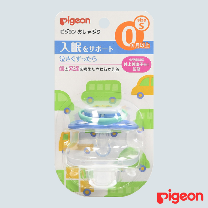Pigeon Baby Pacifier Car Small 0mo+