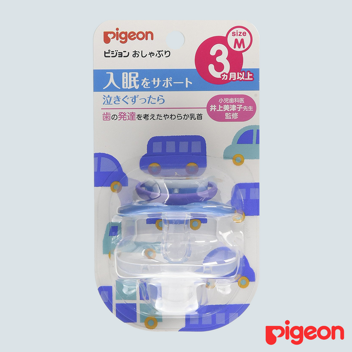Pigeon Baby Pacifier Car Medium 3mo+