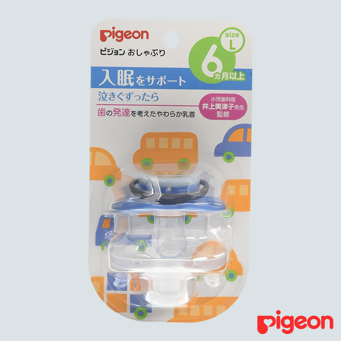 Pigeon Baby Pacifier Car Large 6mo+