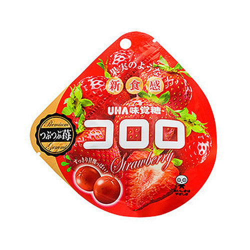 Kororo Gummy Candy Strawberry 40g