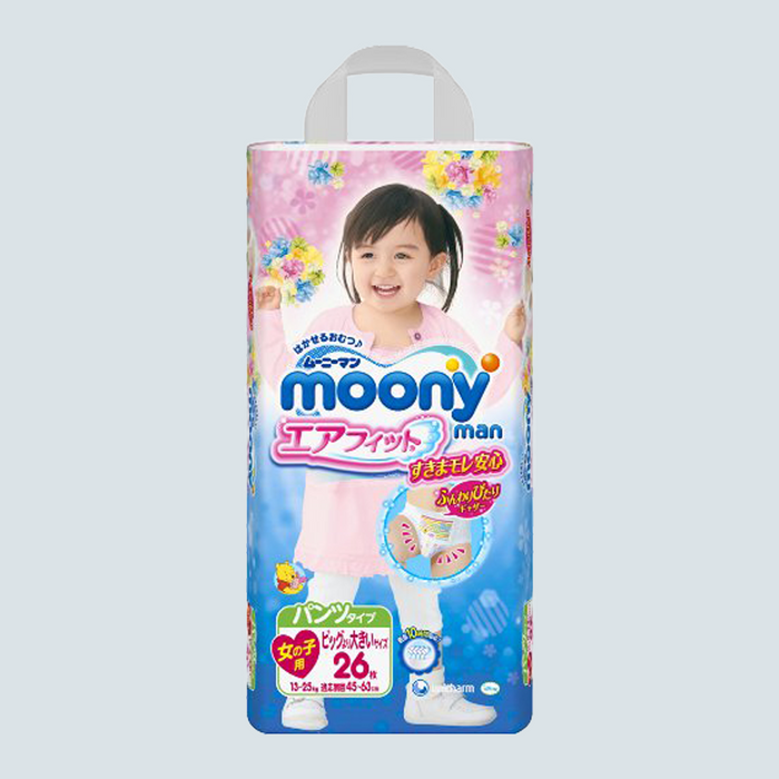 Moony-Man Pull Up Pants for girls Size XXL 26 pcs