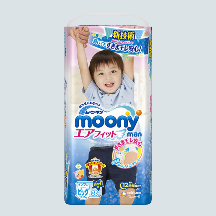 Moony-man Pull Up Pants for Boys Size XL 38 pcs