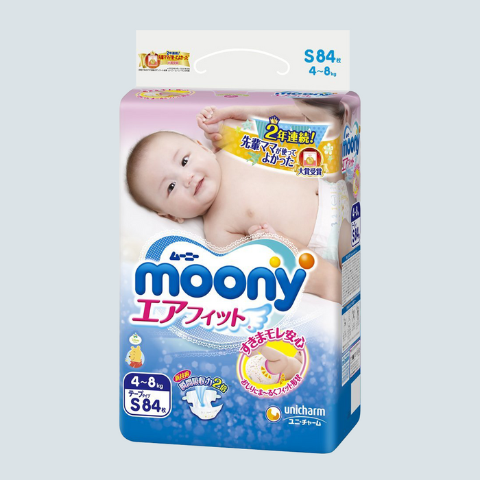 Moony Baby Diaper Size S 84 pcs