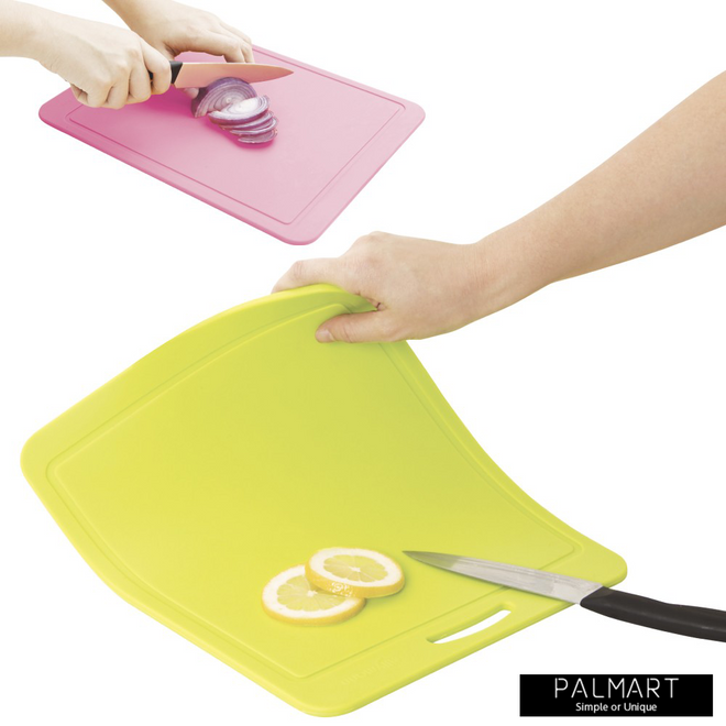Silicone Chopping Board Pink