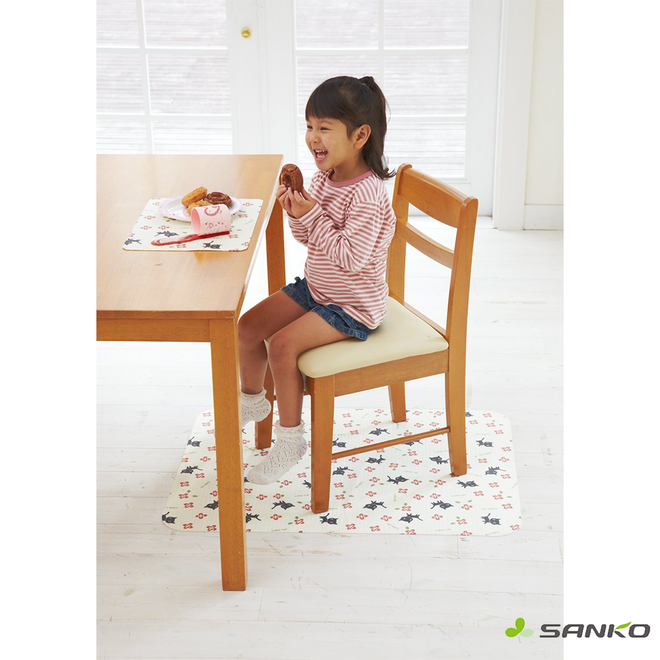 Floor Mat for Toddler Dinning