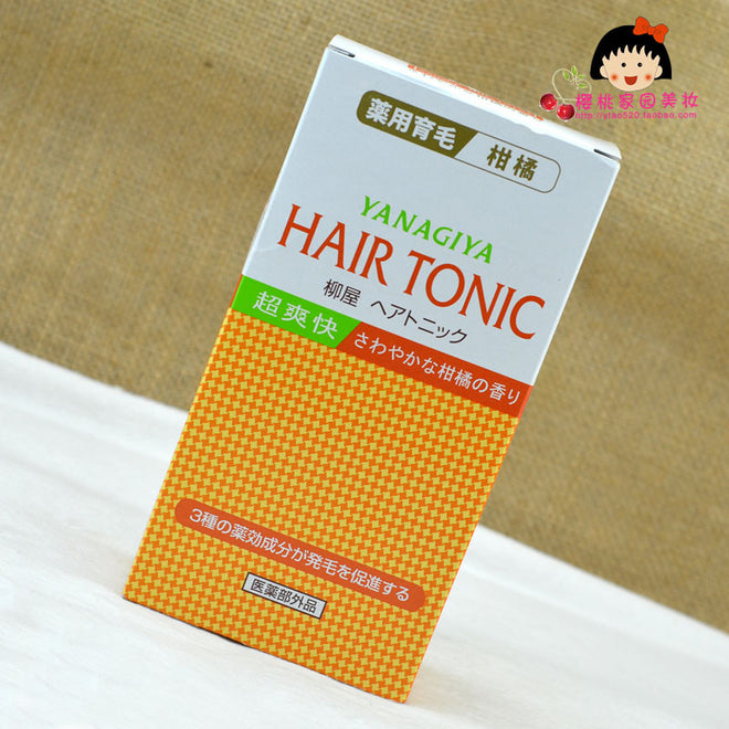 Yanagiya Hair Growth Toner Orange 240ml