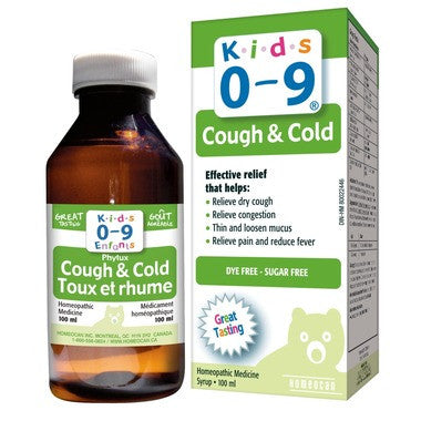 Homeocan Kids 0-9 Cough & Cold Syrup  Grape Flavour 100 mL