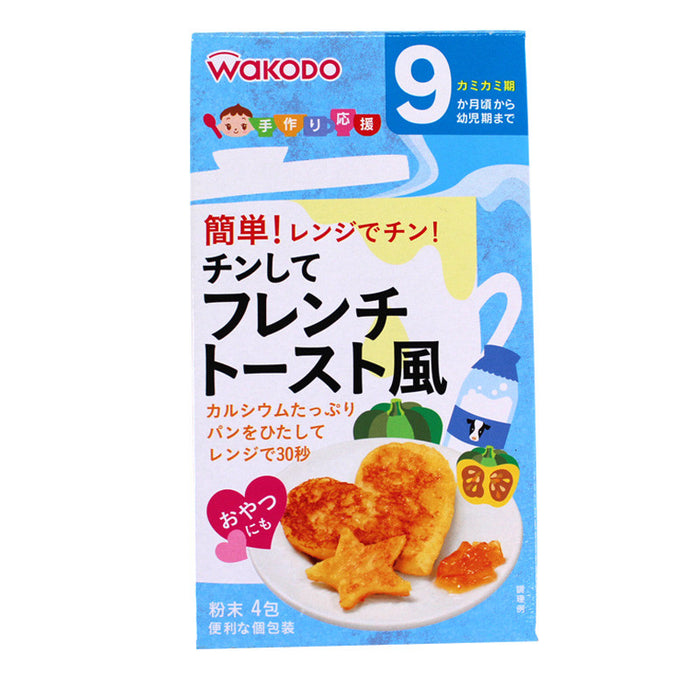 Wakodo Baby Microwave French Toast  Mix 6pc
