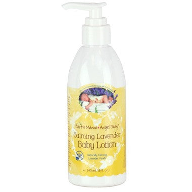Earth Mama Angel Baby Calming Lavender Baby Lotion  240 mL