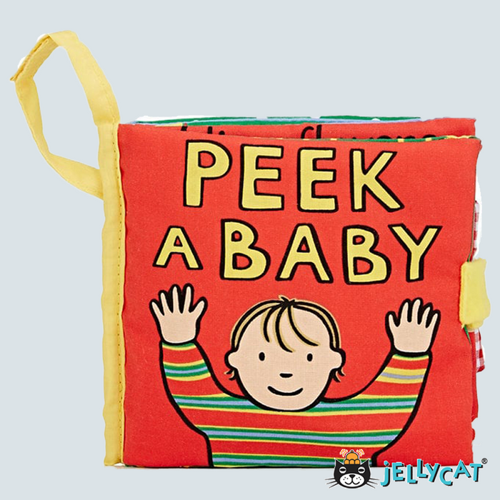 Peek a Baby Activity Book