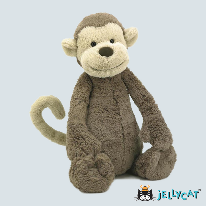 "Bashful Monkey  Medium 12"" 30cm"