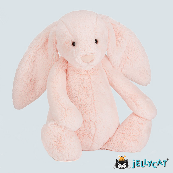 Bashful Light Pink Bunny Large