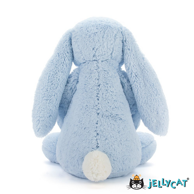 Bashful Light Blue Bunny Huge