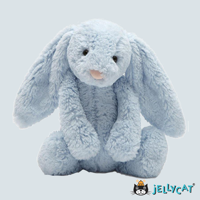 Bashful Light Blue Bunny Large