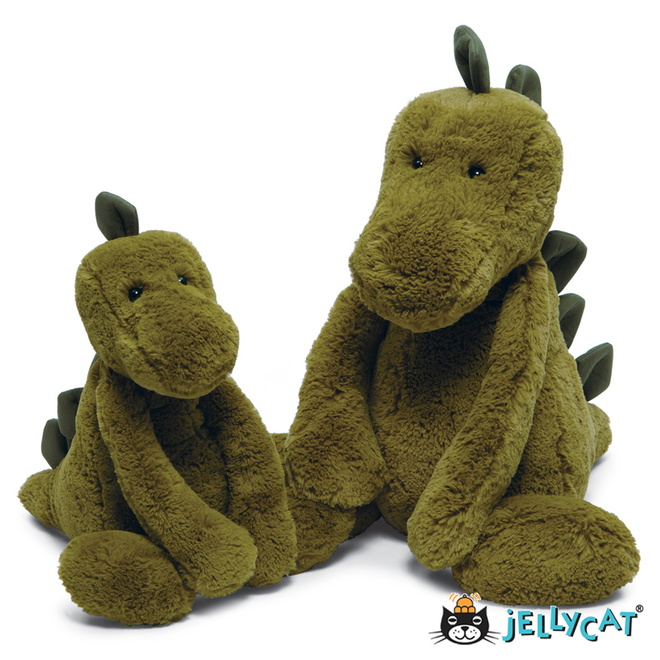 "Bashful Dino Huge 15"" 38cm"