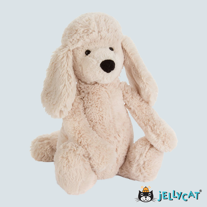 "Bashful Poodle Pup Medium 12"" 30cm"