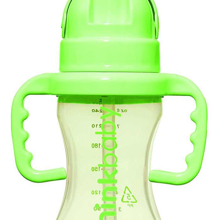 Thinkster Straw Bottle  9 oz Light Green