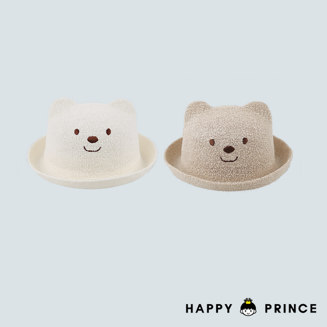 Bear Straw Hat