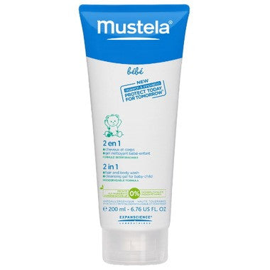 Mustela 2-in-1 Hair and Body Wash  200 mL