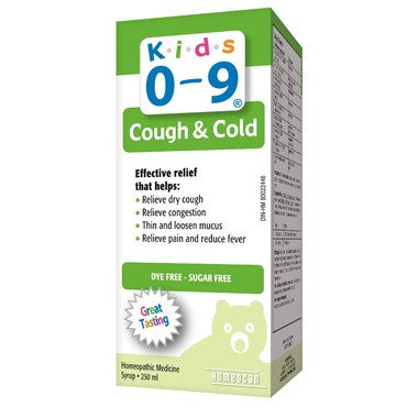 Homeocan Kids 0-9 Cough & Cold Syrup  Grape Flavour  250 mL