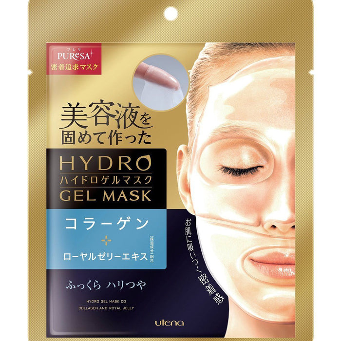 Utena PuReSa HYDRO Gel Face Mask 1 pc  - Collagen & Royal Jelly