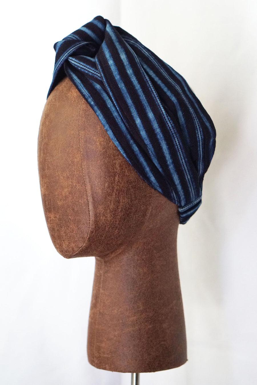 Indigo Stripe (Satin-Lined)
