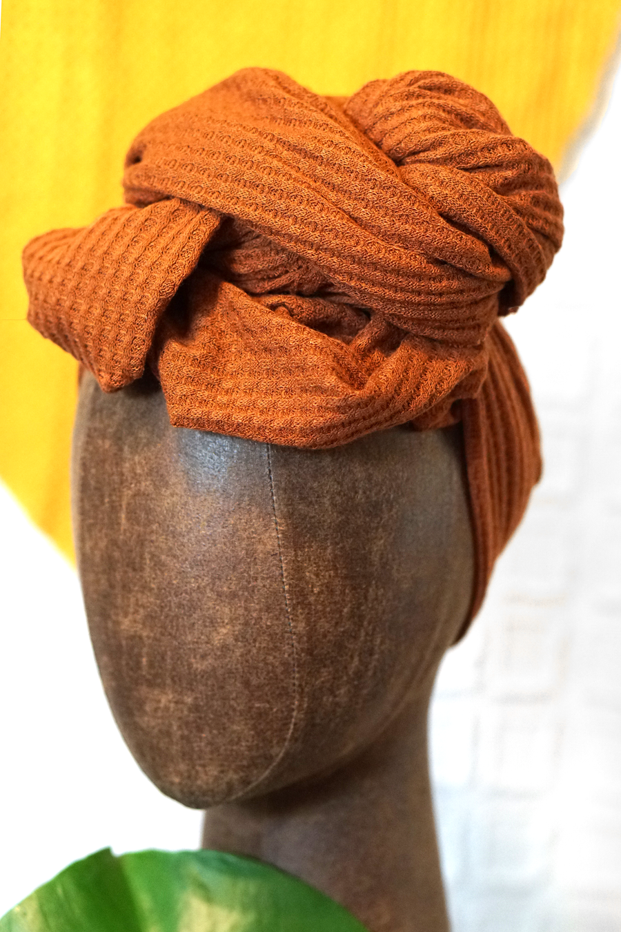 Textured Stretch | Pumpkin