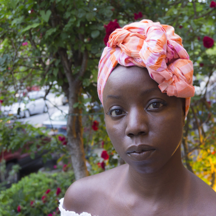 Ambrosia-Headwrap-Ankara Crowns-the wrap life-head scarf-brooklyn-african print-turban- fanm djanm- cee cees closet - head wrap