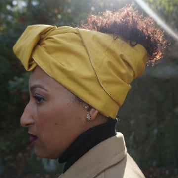 Orun-Headwrap-Ankara Crowns-the wrap life-head scarf-brooklyn-african print-turban- fanm djanm- cee cees closet - head wrap