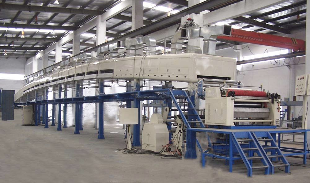 Tape production machines for huge new quantities.