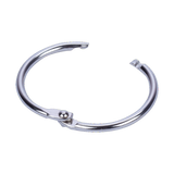 Hinged ring metal nickel binding ring steel
